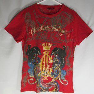 Christian Audigier Los Angeles T-Shirt Size L